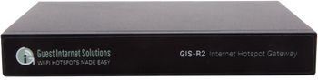 Guest Internet GIS-R2 HotSpot Internet Gateway up to 50 Users