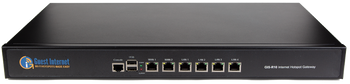 Guest Internet GIS-R10 Hotspot gateway for businesses with up to 250 concurrent users