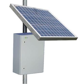 Tycon System RPST1224-100-80 12V Battery, 24V PoE, RemotePro 20W Continuous Solar Power System