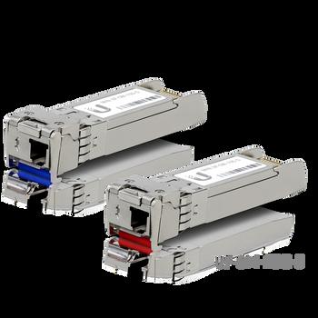 Ubiquiti Networks UF-SM-10G-S SFP+ Single-Mode Fiber Module (2-Pack) (UF-SM-10G-S)