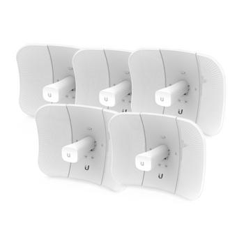 Ubiquiti airMAX LiteBeam Gen 2 5AC 5GHz 23dBi CPE 5-Pack - Int'l Ver. (LBE-5AC-Gen2-5)