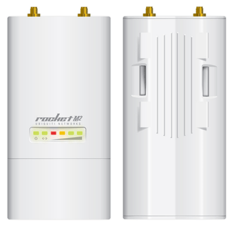 Ubiquiti RocketM2 2.4GHz Hi Power 2x2 MIMO airMax BaseStation - Int'l version (RocketM2)