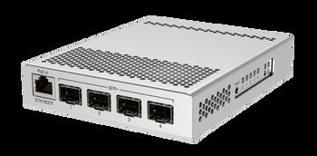 Mikrotik CRS305-1G-4S+IN Desktop switch one Gigabit Etherent port 4 SFP+ 10Gbp ports