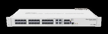 MikroTik CRS328-4C-20S-4S+RM Cloud Router 24 SFP Ports 4 SFP+ Ports 128Gbps 43W Switch L5