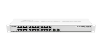 MikroTik CSS326-24G-2S+RM Cloud Smart Switch w/ 24 Gigabit Ports and 2 SFP+ Cages