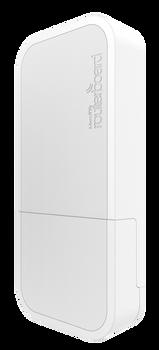 MikroTik - RBwAPG-5HacT2HnD-BE Black AP wAP ac 802.11a/n/ac OSL4 PoE - US Version (RBwAPG-5HacT2HnD-BE-US)