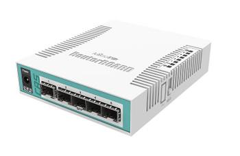 MikroTik CRS106-1C-5S SFP Cloud Router Switch
