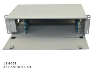 "48 Core LC FC SC ST ODF Optical Distribution Frame rack mount 19"" Fiber Optic Management Unit (JZ-9002)"