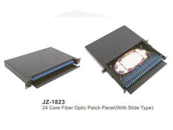24 Core Fiber Optic Patch Panel