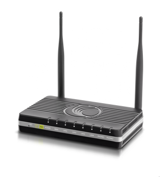 Cambium Networks C000000L047A cnPilot R200P ROW US cord 802.11n 300Mbps WLAN Router with ATA and PoE