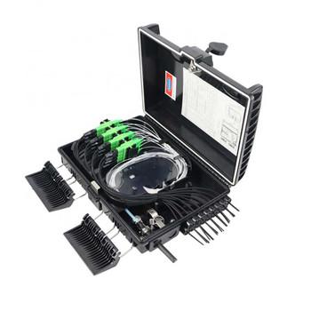 16 Core Fiber Optic Distribution Box -16 Mini/UPC (JZ-1321-16G-16M-UPC)