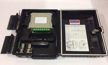 16 Core Fiber Optic Distribution Box JZ-1321-16P(8 Insert/APC)