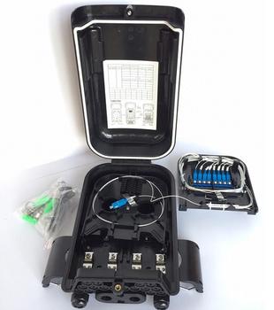 16 Core Fiber Optic Distribution Box - 1x8 MiniUPC (JZ-1361-16I-1x8M-UPC)