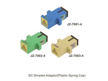SC Simplex Adapter -Plastic Spring Cap
