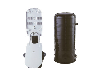 Dome Type Aerial Fiber Optic Splice Closure - 72 Cores (JZ-10022-72S)