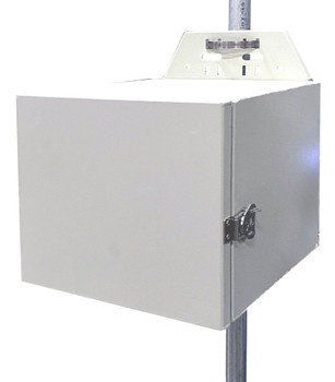 Tycon Solar ENC-AL-12x14x15 Weatherproof Aluminum Ground Mount Enclosure