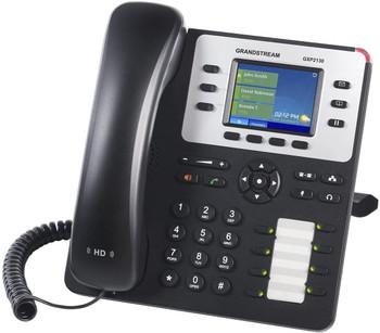 "Grandstream GXP2130 IP Phone 3-Line Enterprise HD 2.8"" LCD, POE, Power Supply Included"