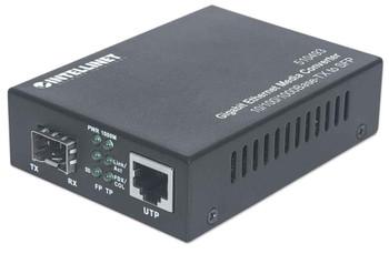 Intellinet 510493 Gigabit Ethernet to SFP Media Converter