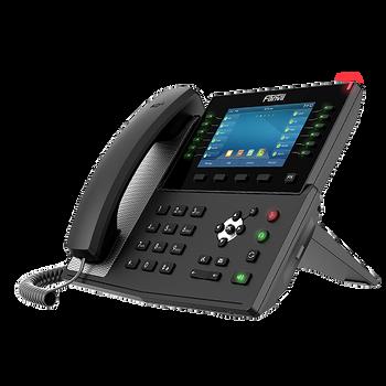 "Fanvil X7C IP Phone 20 SIP accounts 7"" Touch LCD bluetooth gigabit PoE HD audio video calls"