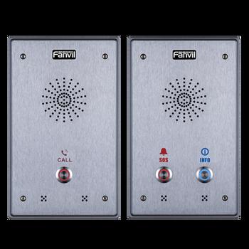 Fanvil I12 - 2 SIP lines IP Audio Intercom HD voice IP65 aluminum alloy