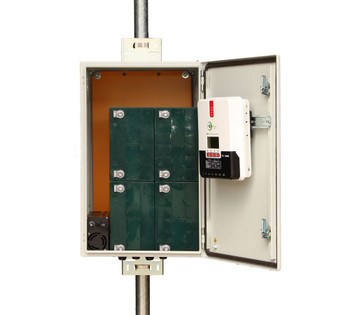 Tycon Systems UPST12/24-200-600 enclosure  with Kit