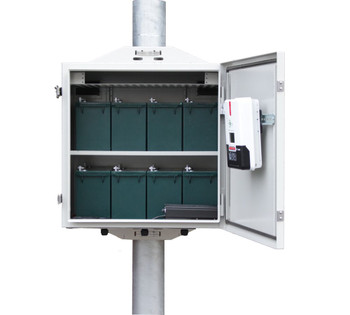Tycon Systems UPSTL12/48-400-600 Enclosure and Kit