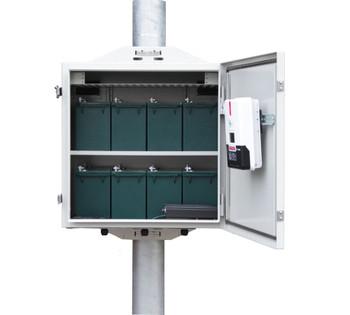 Tycon Systems UPSTL48-400-600 Enclosure Kit