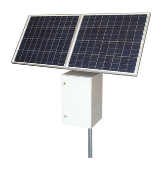 Tycon Systems RemotePro,40W,160W Sol,2400W Batt,24VPoE Remote Power Solar System