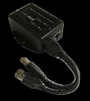 Tycon Systems TP-DCDC-2USB-24 2x USB In, 24V 12W Pasv PoE, DCDC Converter