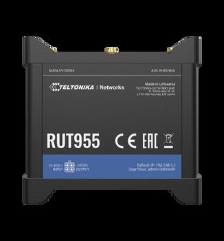Teltonika RUT955 Rugged 4G/LTE Dual SIM Cellular Router (ATT/TMOB)