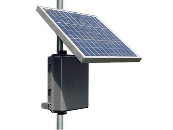 Tycon Systems 35W Solar Panel, 12V 36Ah Battery, 12V 40A for Pumps Off Grid Solar Power System