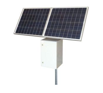 Tycon Systems 25W, 160W Solar Panels, 12/24V 200Ah Off Grid Solar Power System (RPST12/24M-200-160)