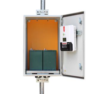 Tycon Systems 25W, 160W Solar Panels, 12/24VDC 100Ah Battery,MPPT Off Grid Solar Power System