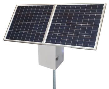 Tycon Systems 25W, 170W Solar Panel, 24V 100Ah Battery, 24V PoE Remote Off Grid Solar Power System (RPS2424-100-170)