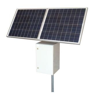Tycon Systems 25W,160W Solar Pnels,24V 50Ah Battery, 24VPoE Off Grid Solar Power System (RPST2424-50-160)
