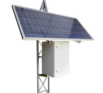 Tycon Systems RPST12/24M-200-255LE RemotePro, 50W, 255W Solar Panels,2400W Batt, MPPT Off Grid Solar Power System