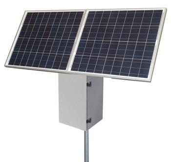 Tycon Systems 40W 170W Solar, 24V 200Ah Battery, 24V PoE PWM Controller Remote Power Solar System