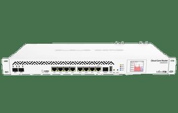 MikroTik CCR1036-8G-2S+EM Cloud Core Router Front