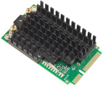 MikroTik R11e-5HnD High power 802.11a/n 5GHz 500mW MiniPCI-Express Wireless Card (with 2 MMCX connectors)