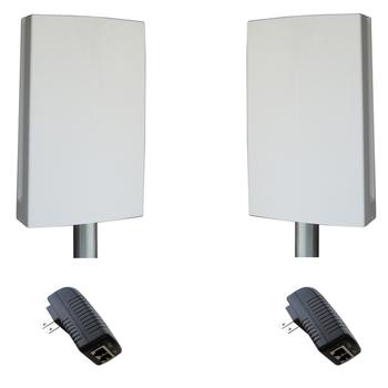 Tycon Systems EZBR-0214+ Industrial Strength 2.4GHz 802.11bg Outdoor PtP Access Point