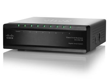 Cisco SLM2008T-NA Small Business 200 Series Smart SG200-08 Gigabit Ethernet Switch