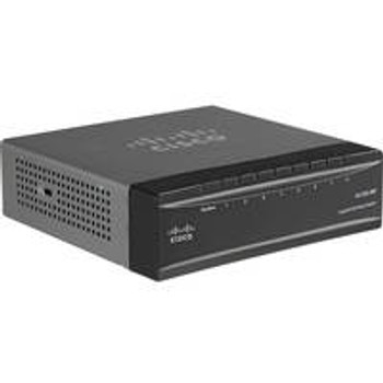 Cisco SG200-08P 8-port (4 Reg + 4 PoE) Gigabit PoE Smart Switch