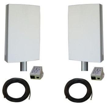 Tycon Systems EZBR-0516HD+ Plug And Play, 5GHz Point To Point Bridge System