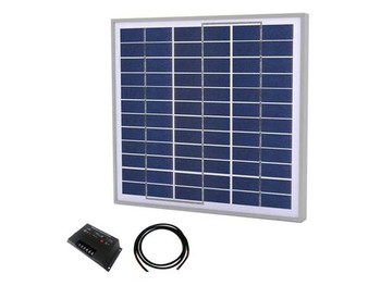 Tycon Systems TPSK24-30W 30W Complete Solar Kit with 20A Controller, 24V