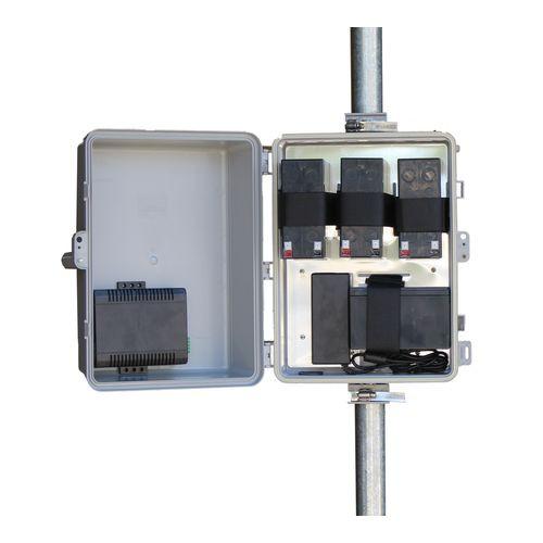 Tycon Systems UPS-PL1224-36 UPSPRO - 12V Battery, 24V POE Backup System-Solar Ready