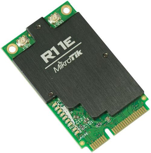 MikroTik R11e-2HnD 802.11b/g/n 2GHz 800mW MiniPCI-Express Wireless Card (with 2 uFL connectors)