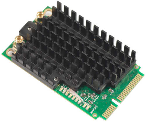 MikroTik R11e-2HPnD 802.11b/g/n 2GHz 1000mW MiniPCIe Wireless Card (with 2 MMCX connectors)