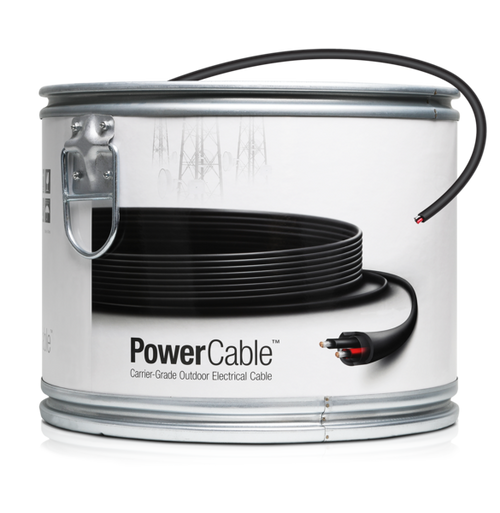 Ubiquiti PC-12 Power Cable - Carrier-Grade Outdoor Electrical Cable - 1000Ft