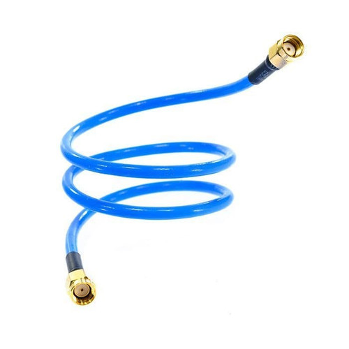 Mikrotik ACRPSMA Flex-guide RPSMA cable, Low loss cable assembly, soldered on both ends, with silver plated copper and less than 0.65dB losses