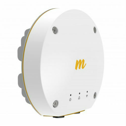 Mimosa Networks - 100-00036 B11 11GHz 27 dBm 1.5Gbps capable PTP Licensed Backhaul End with GPS Sync, Connectorized, 4x4:4 MIMO OFDM, Includes 56V PoE Injector